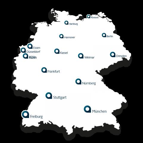 Belvisio deutschlandweit